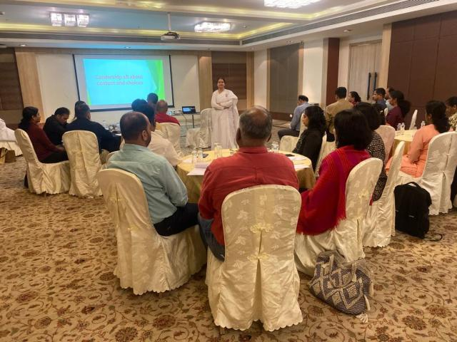 leading by values by BK Sister Meera 2