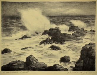 """""""Turbulent Coast"""" by Charles Rogers"""