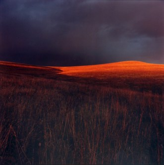 """Flint Hills at Sunset"" by Larry Schwarm"