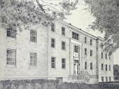 """""""Benton Hall"""" by Rosemary Yoho"""