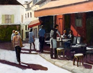 A Walk in Montmarte