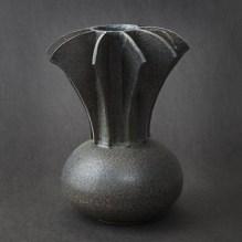 Black Winged Vase