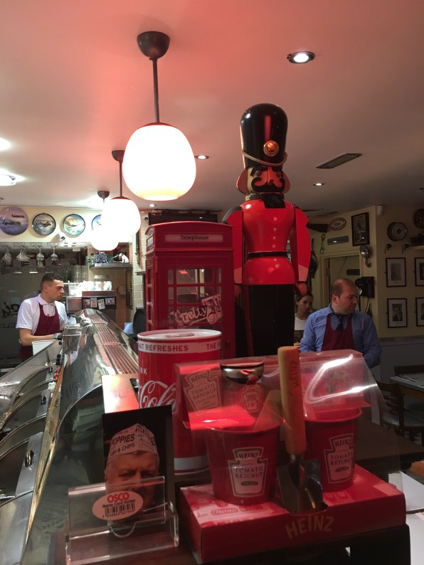 red things in the chippie