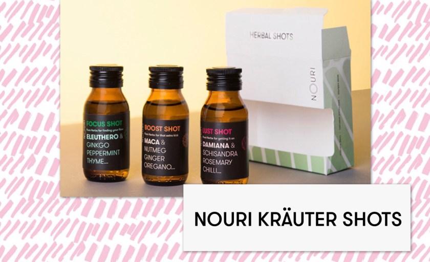 Gewinnspiel – TAG 4 – Eine Tagesportion Energie mit NOURI Herbal Shots
