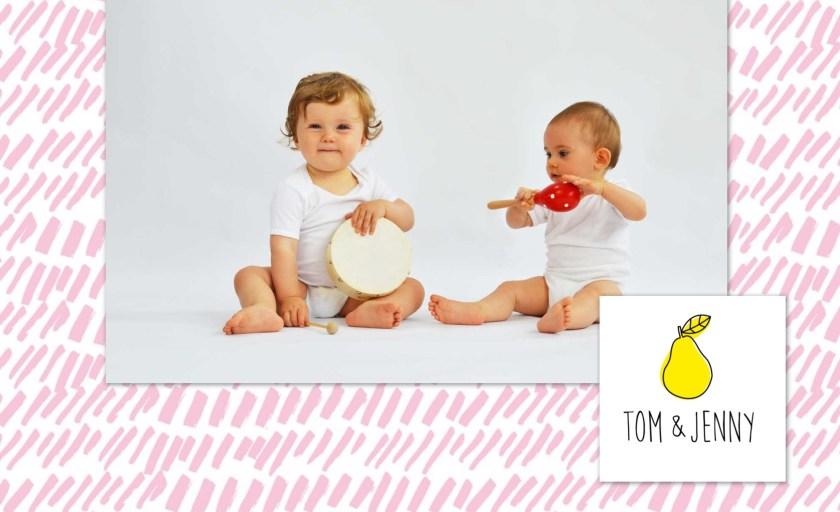 Gewinnspiel – TAG 5 – Babybody Dreierset von TOM & JENNY