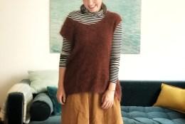 Mode Klassiker neu interpretiert: der Oversize Pullunder