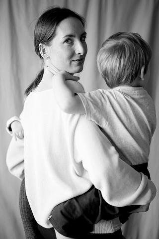 Janina Waschkowski Nove mit Kind