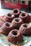 Melting Santa Muffins