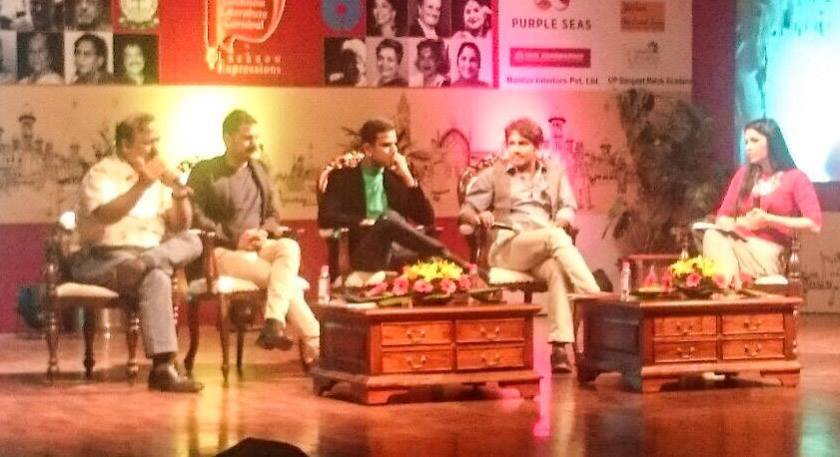 Faraaz Kazi Lucknow Literature Carnival