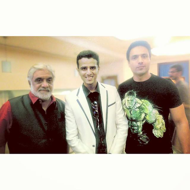Anjan Srivastava, Faraaz Kazi and Iqbal Khan