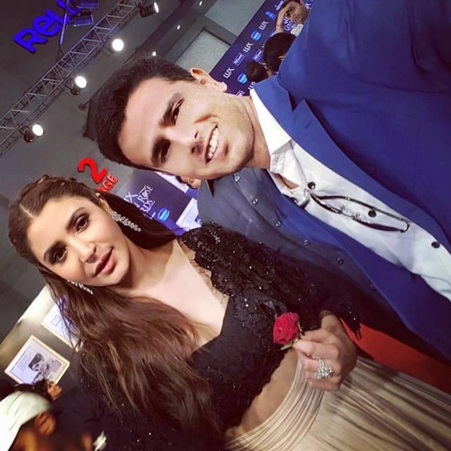 Anushka Sharma and Faraaz Kazi