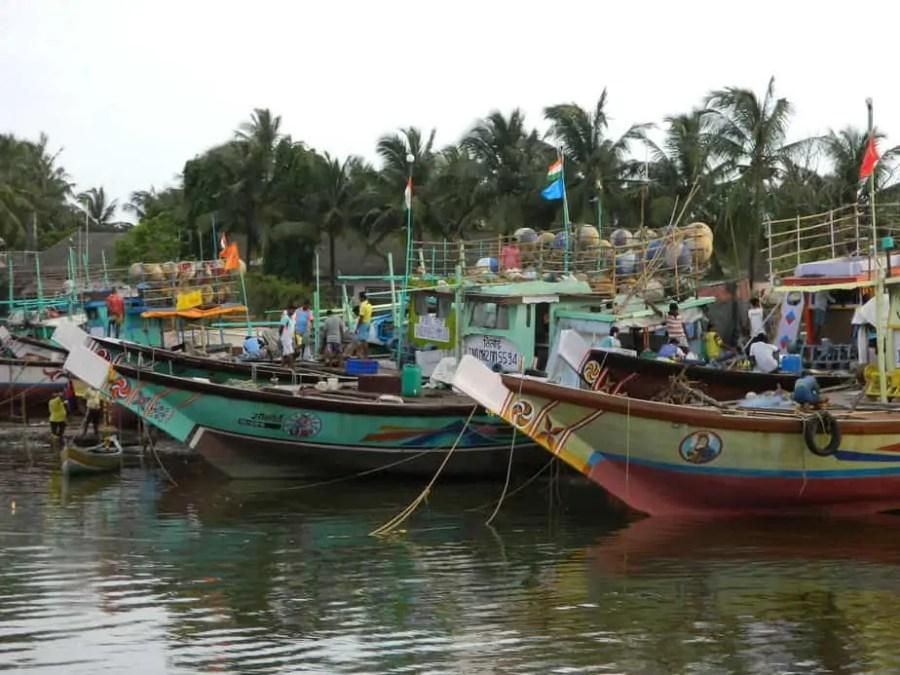 Boats on Marve Beach