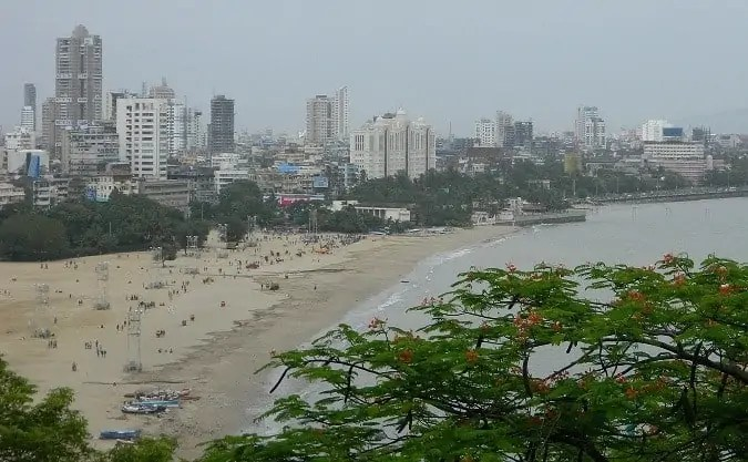 Marine Drive View Form Above