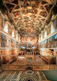 Vatican fits sensors to preserve priceless Sistine Chapel