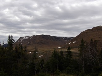The Tablelands at Gros Morne