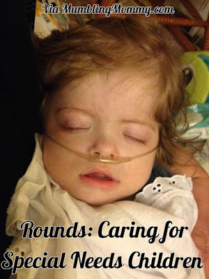 When My Special Needs Child is Sick - Mumbling Mommy