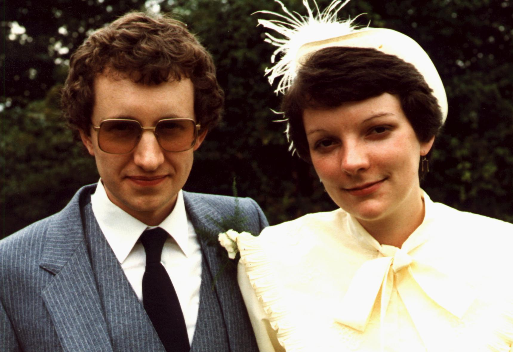 Roy and Sue Manterfield's wedding (24 July 1982)