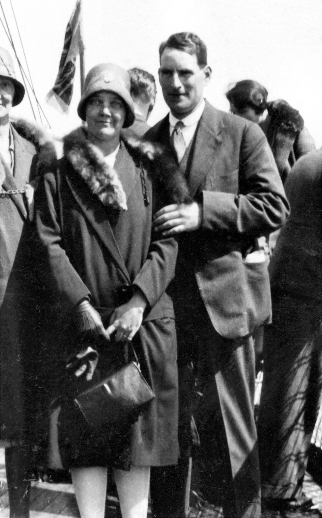 Florence and John Weallans (c1930)