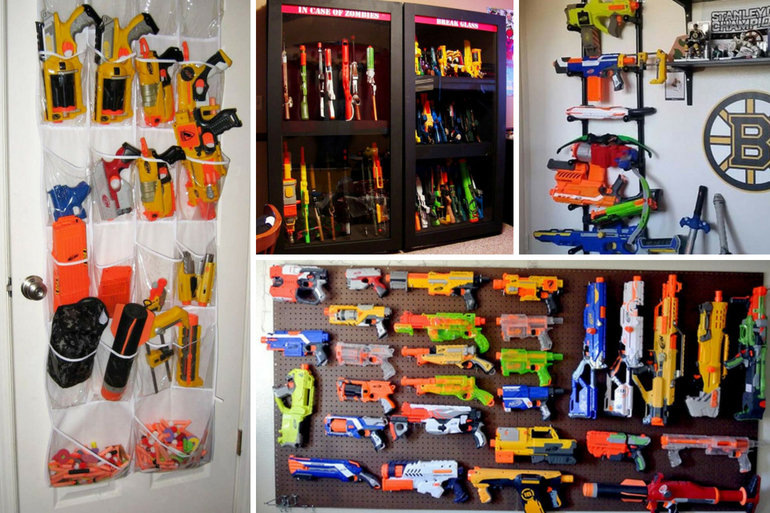 behold 13 clever nerf