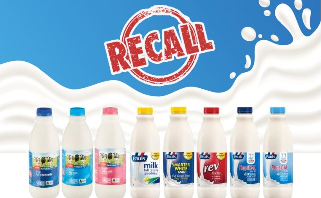 Milk Recall Issued Amid Contamination Fears