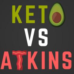 Keto vs Atkin diet