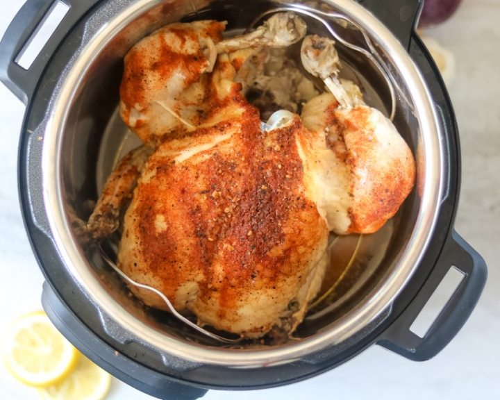 Ninja Foodi Roasted Chicken