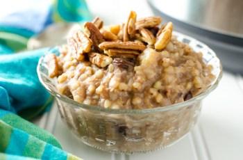 Buckwheat banana porridge