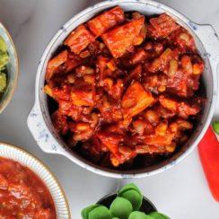 Ninja Foodi Mixed Bean Chili Recipe