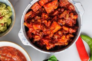 Ninja Foodi Mixed Bean Chili Recipe