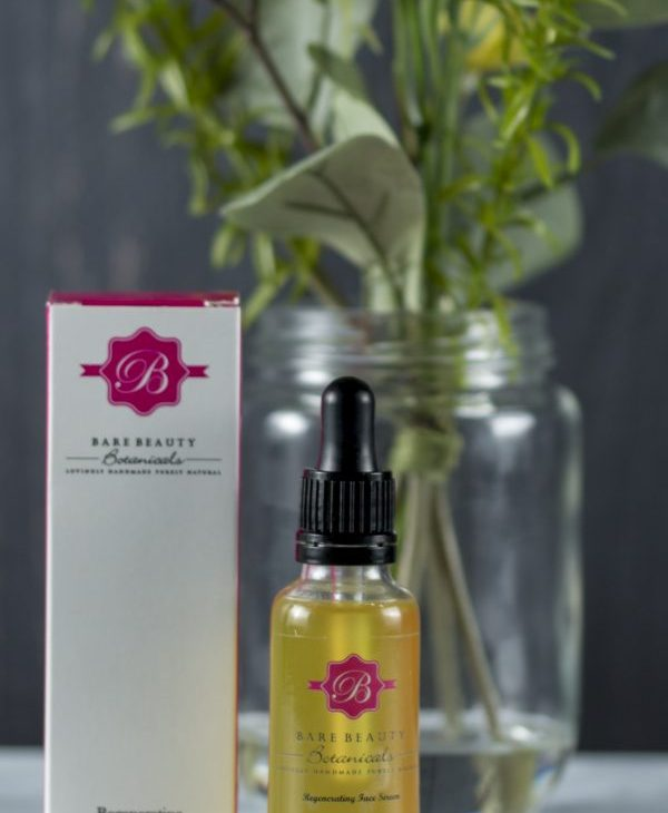 bare beauty botanicals face serum