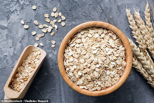 Oats can be used to make porridge, added to a fruit smoothie or used as a topping for a crumble. Pictured, stock image
