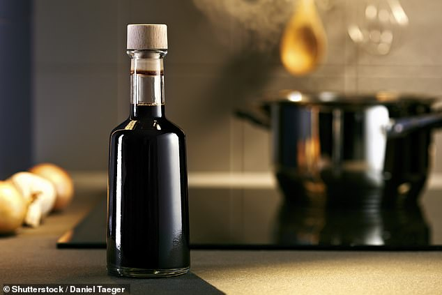 Balsamic vinegar is a must-have, the multipurpose vinegar works well alone as a dressing for a salad, but can also be used to add flavour to tomato, chicken or pasta dishes (file photo)