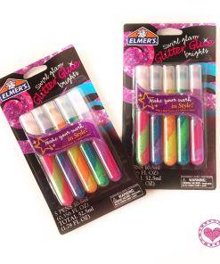Elmers Pegantes escarchados swirl glam brights 10.5 ml mumi tienda mayorista libreria escolar