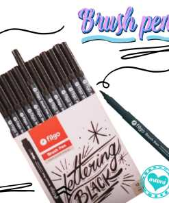 filgo brush pen negros marcador pincel mumi diseño divetido