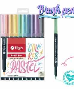filgo brush pen pasteles marcador pincel por 10 1 mumi diseño divertido