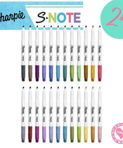 sharpie snote resaltador marcador por 24 mumi diseño divertido