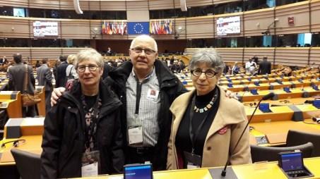 Hémicycle du Parlement Européen à Bruxelles