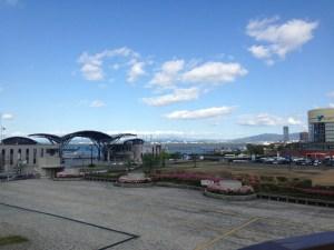 浜大津駅からの眺め