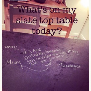 Slate Top Table review from http://www.slatetoptables.com