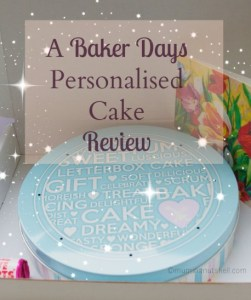 Baker Days cake review http://muminanutshell.com