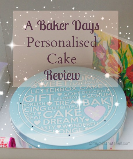 Let them eat cake! A Baker Days personalised cake review.