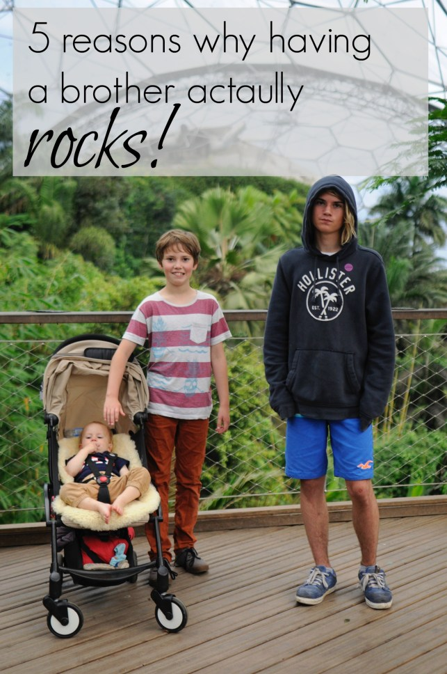 5 reasons why having a brother actually rocks