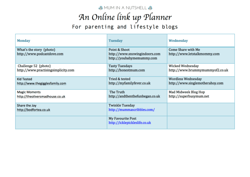 link up planner updated