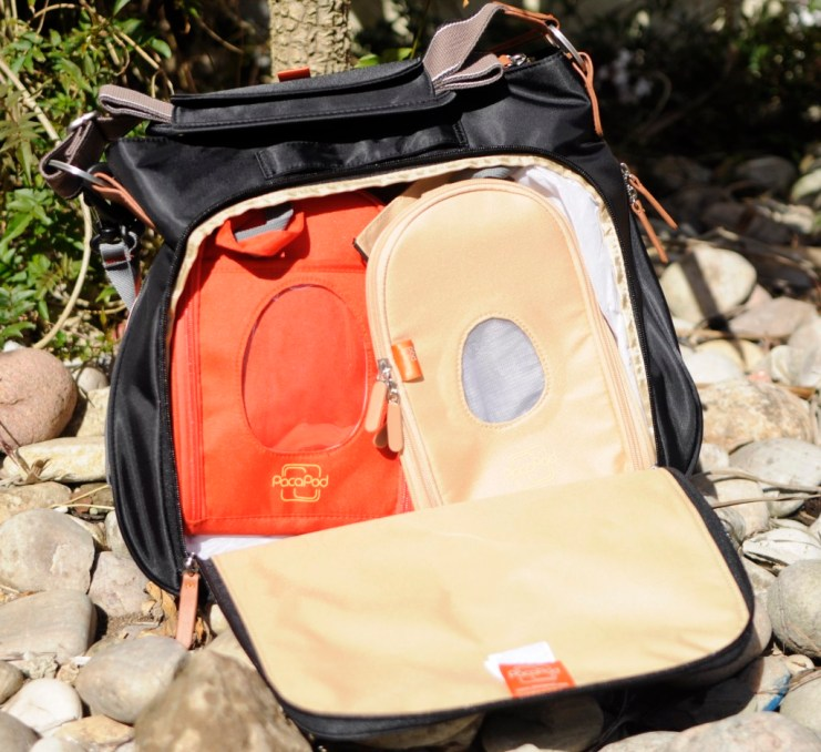 How to organise your changing bag. The Portland by PacaPod is the perfect changing bag to see you right through the early years