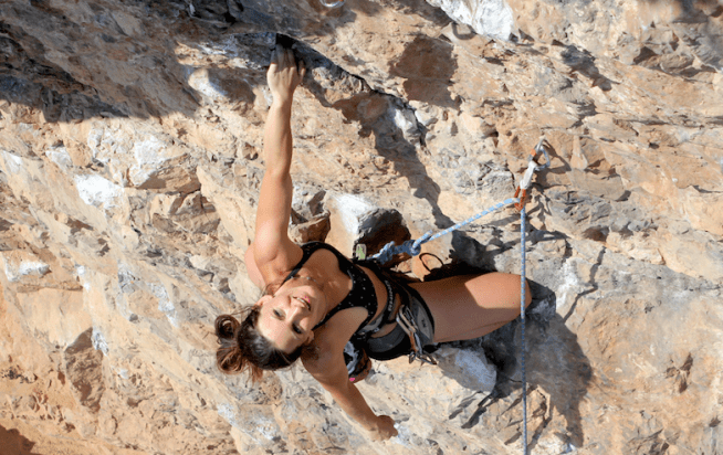 An interview with pro climber, Jenna Goddard
