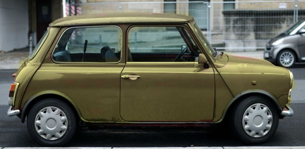 remembering my first car, I loved my wee coloured Mr Bean machine, but the story doesn't end there.