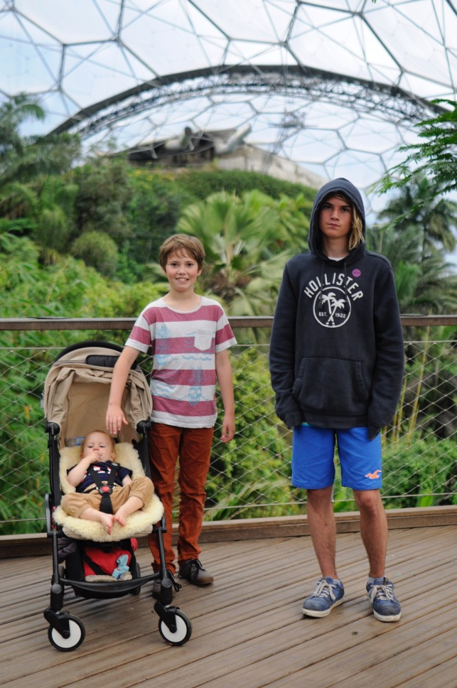 visiting the Eden Project as a family, there was so much to do that a day wasn't enough!