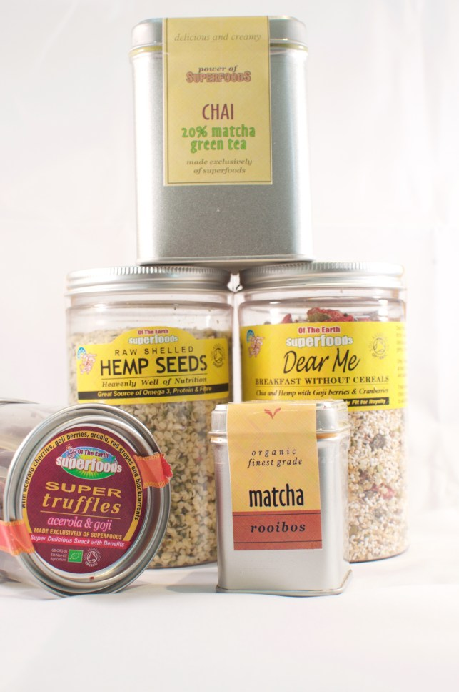 making a healthy lifestyle switch with of the earth super foods