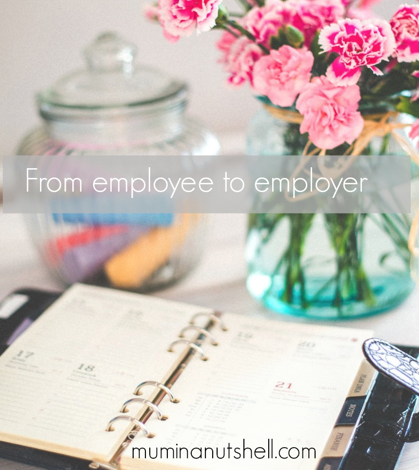 From Employee To Employer, My Life Switch | Sponsored Post