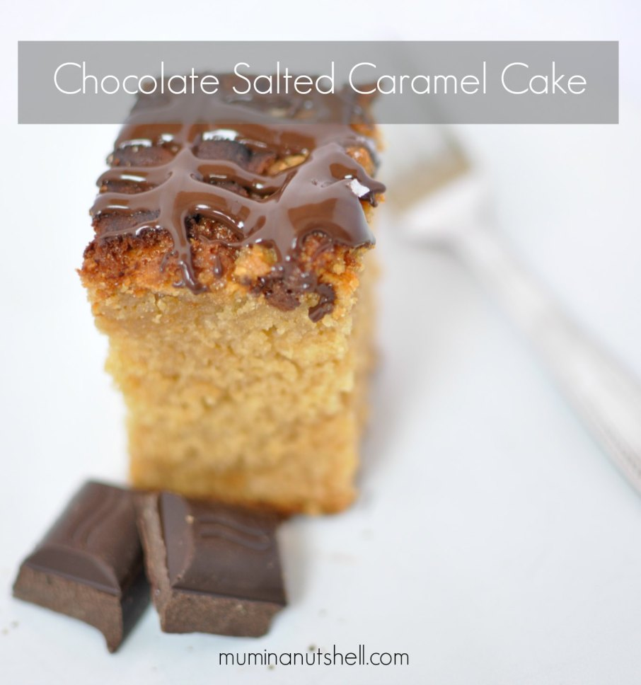 A Recipe For Chocolate Salted Caramel Cake